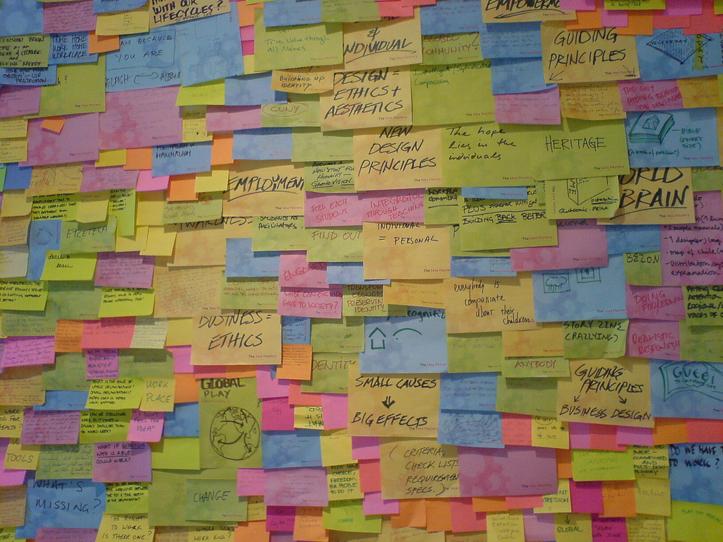 Brainstorm Sticky Notes