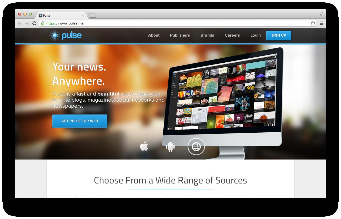Pulse Screen Shot